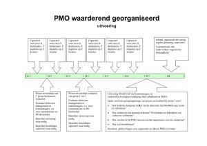 stappenplan PMO uitvoering